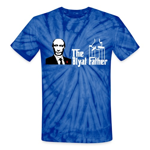 The Blyat Father - Unisex Tie Dye T-Shirt