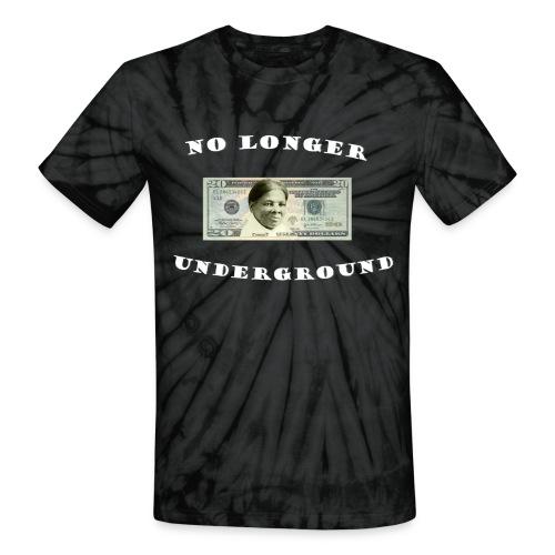 No longer Underground - Unisex Tie Dye T-Shirt