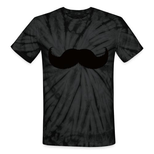 Mustache Tee - Unisex Tie Dye T-Shirt