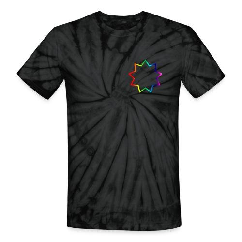 Baha´i rainbow - Unisex Tie Dye T-Shirt