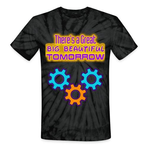Carousel of Progress - Unisex Tie Dye T-Shirt