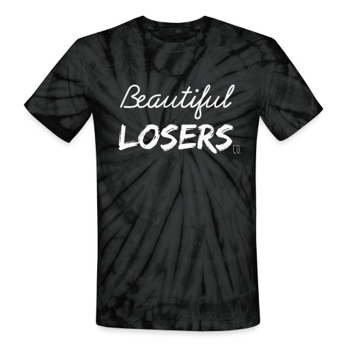 White Beautiful Losers - Unisex Tie Dye T-Shirt