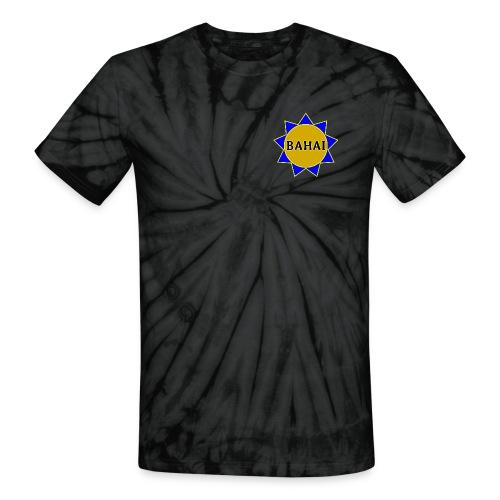 Bahai star - Unisex Tie Dye T-Shirt