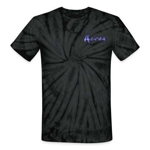 Alpha Black - Unisex Tie Dye T-Shirt