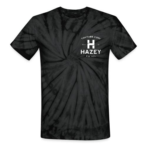 Hipster White - Unisex Tie Dye T-Shirt