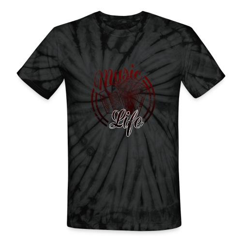 MusicLife2 - Unisex Tie Dye T-Shirt
