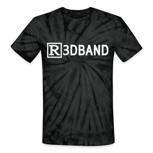 r3dbandtextrd - Unisex Tie Dye T-Shirt
