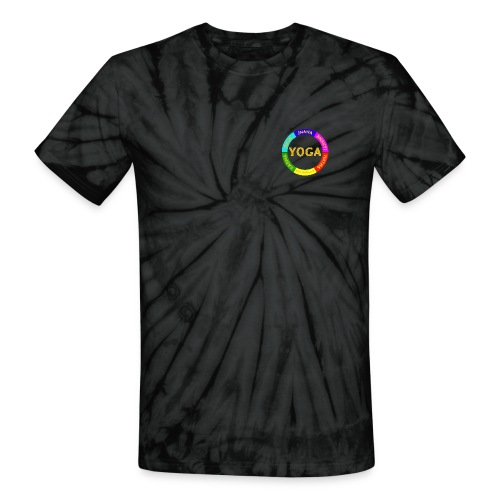 6 ways of Yoga - Unisex Tie Dye T-Shirt