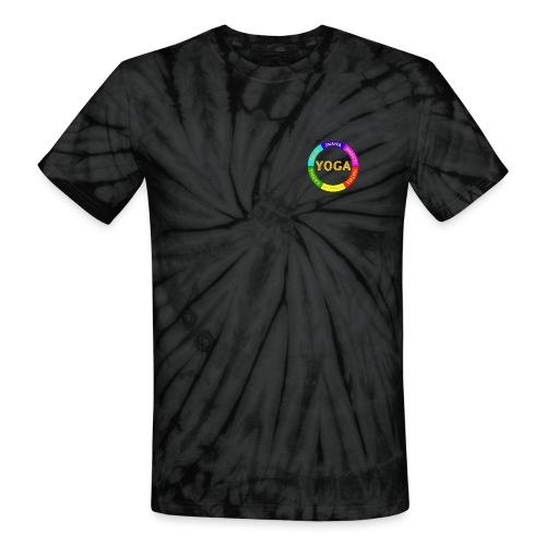 6 ways of Yoga - Unisex Tie Dye T-Shirt