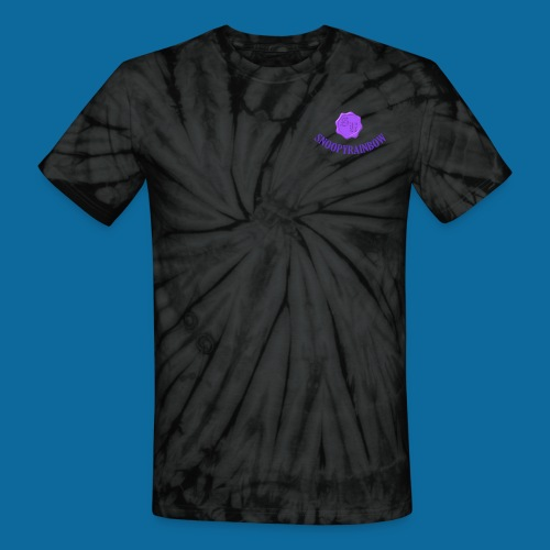 SR logo curved - Unisex Tie Dye T-Shirt