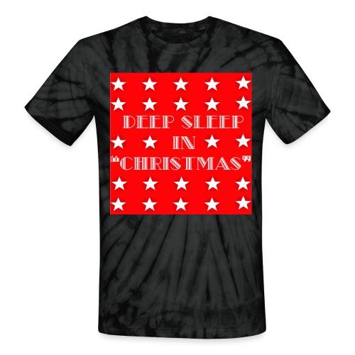 Christmas theme - Unisex Tie Dye T-Shirt