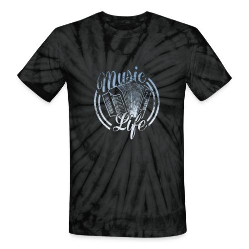 MusicLife1 - Unisex Tie Dye T-Shirt