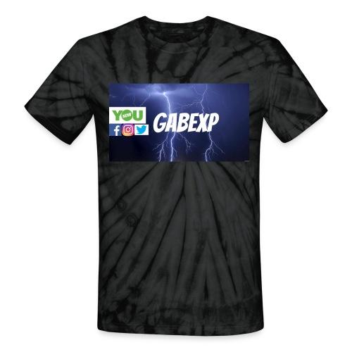 gabexp 1 - Unisex Tie Dye T-Shirt