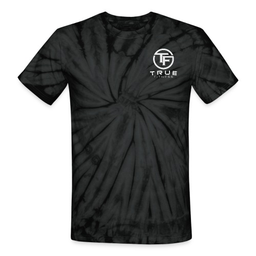 True Fitness white png - Unisex Tie Dye T-Shirt