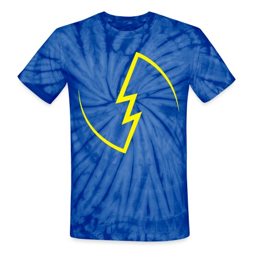 Electric Spark - Unisex Tie Dye T-Shirt