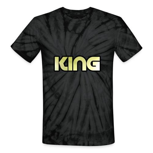 KING ***NEW DESIGN*** - Unisex Tie Dye T-Shirt