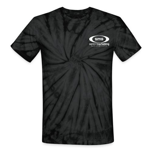SMS White Logo - Unisex Tie Dye T-Shirt