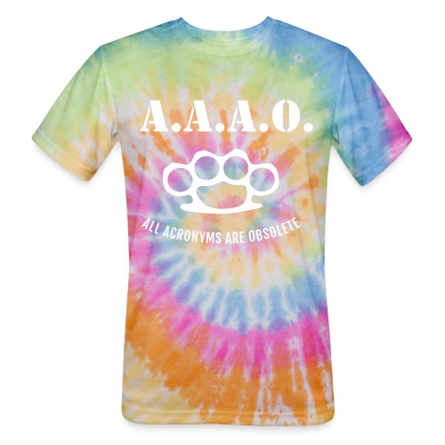 A.A.A.O. - Unisex Tie Dye T-Shirt