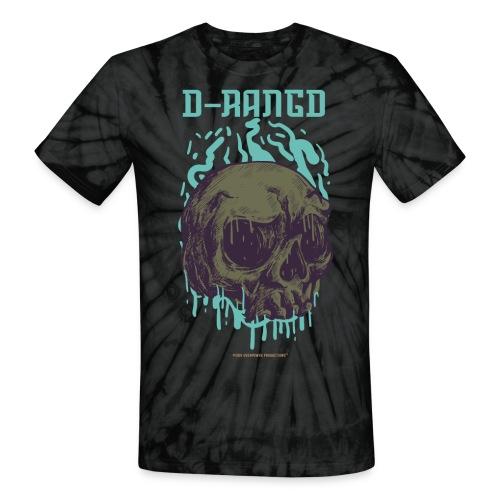 D-RaNGD Melting Skull Logo - Unisex Tie Dye T-Shirt