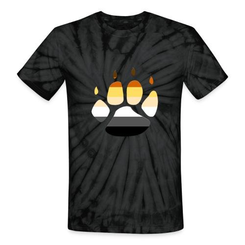 Bear PRIDE PAW - Unisex Tie Dye T-Shirt
