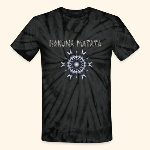 HAKUNA MATATA TRIBAL - Unisex Tie Dye T-Shirt