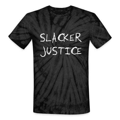 SJ Vertical png - Unisex Tie Dye T-Shirt