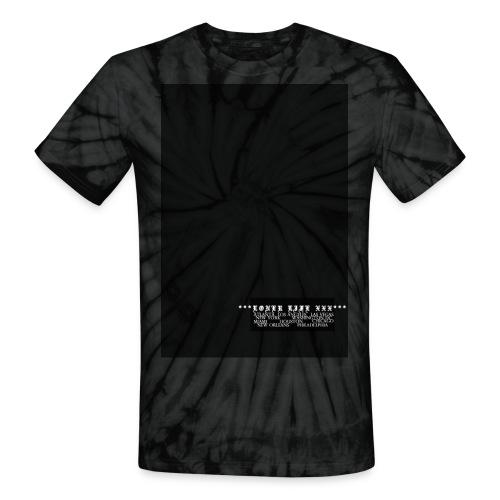 CITIES - Unisex Tie Dye T-Shirt