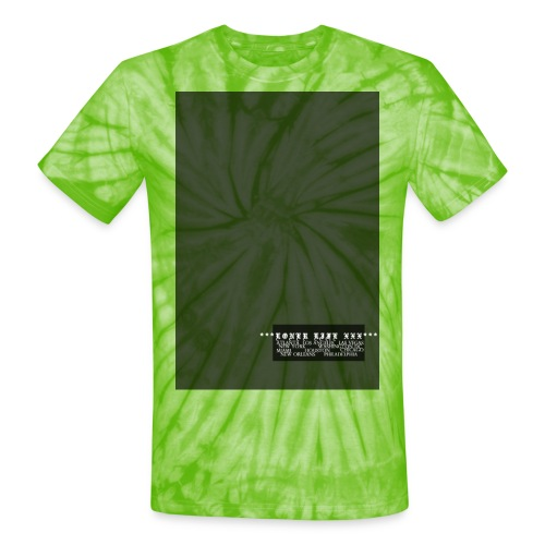 CITIES - Unisex Tie Dye T-Shirt
