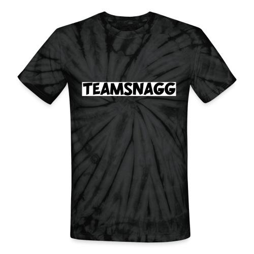 TeamSnagg Logo - Unisex Tie Dye T-Shirt