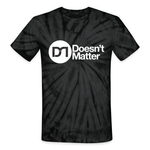 DM - Women's V-Neck Tri-Blend T-Shirt - Unisex Tie Dye T-Shirt