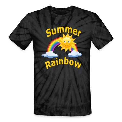 Summer Rainbow - Unisex Tie Dye T-Shirt
