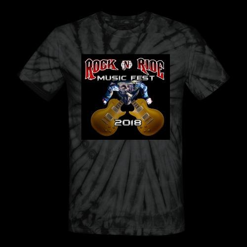 RocknRide Design - Unisex Tie Dye T-Shirt