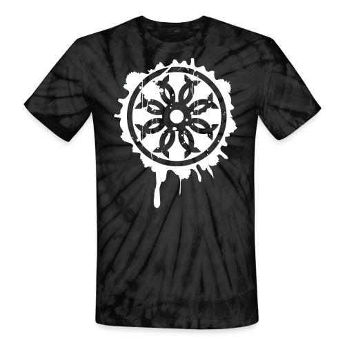 Splatter Crest - Unisex Tie Dye T-Shirt