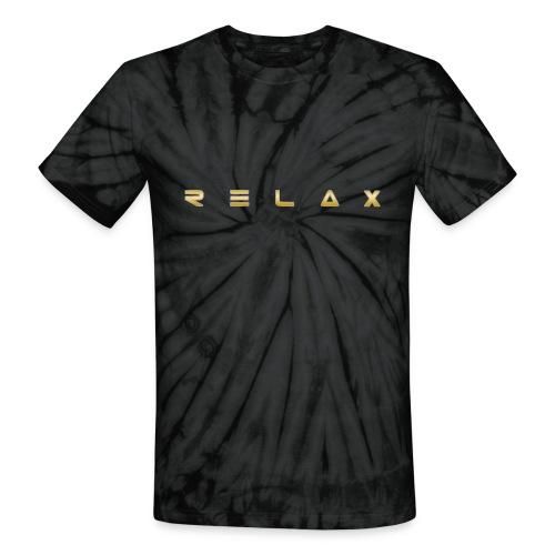 Relax gold - Unisex Tie Dye T-Shirt