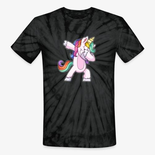 DABBING UNICORN Kid - Unisex Tie Dye T-Shirt