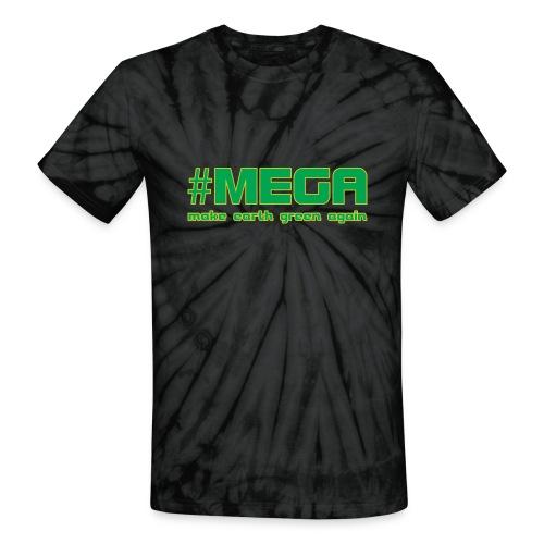 #MEGA - Unisex Tie Dye T-Shirt