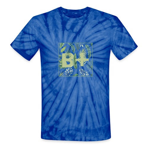 Be positive - Unisex Tie Dye T-Shirt