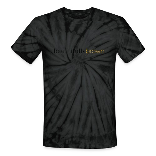 beautifullybrown - Unisex Tie Dye T-Shirt