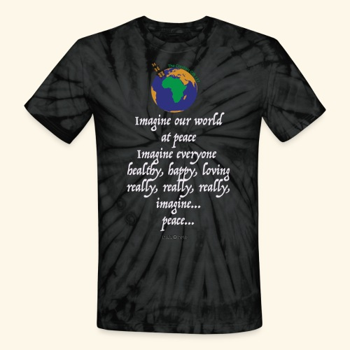 ImagineWH - Unisex Tie Dye T-Shirt