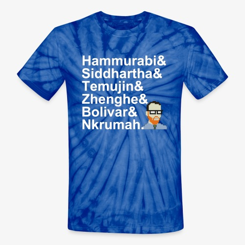 & AP World History Shirt - Unisex Tie Dye T-Shirt