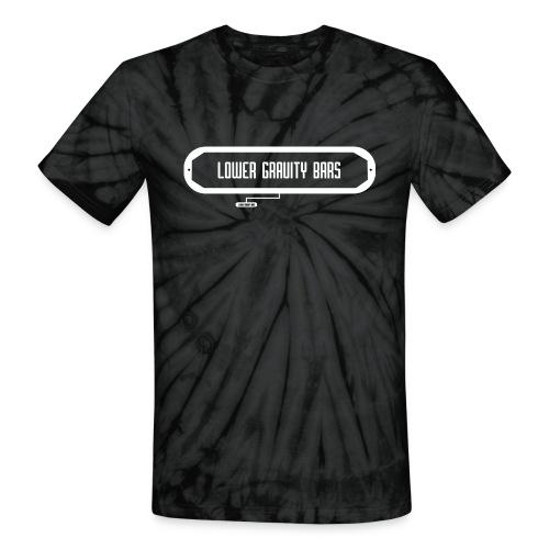 Lower Gravity Bars - Unisex Tie Dye T-Shirt