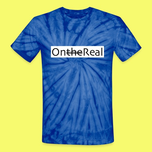 OntheReal ice 2 - Unisex Tie Dye T-Shirt