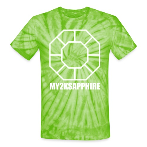 Unisex White Sapphire Hoodie - Unisex Tie Dye T-Shirt