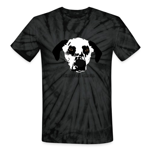 Dalmatian Mom - Unisex Tie Dye T-Shirt