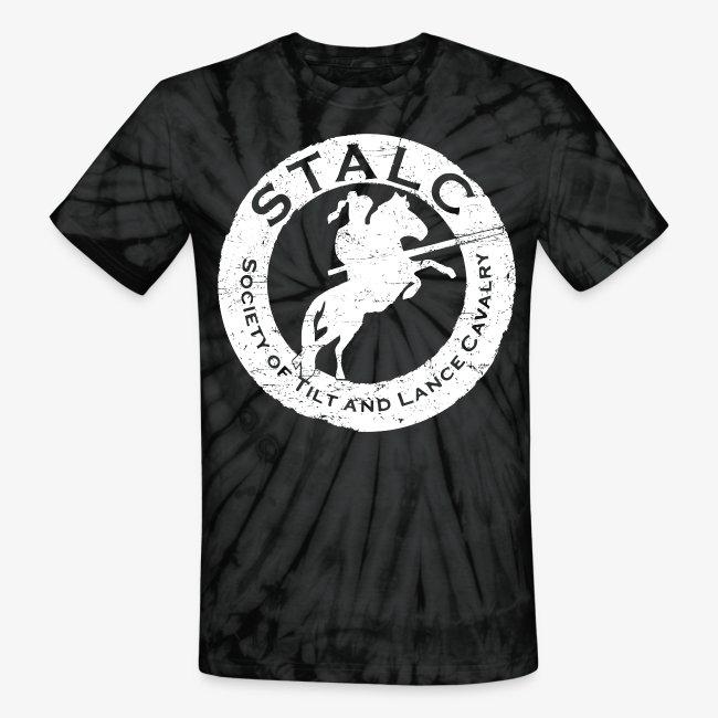 STALC Retro Logo WHITE