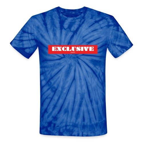 exclusive - Unisex Tie Dye T-Shirt
