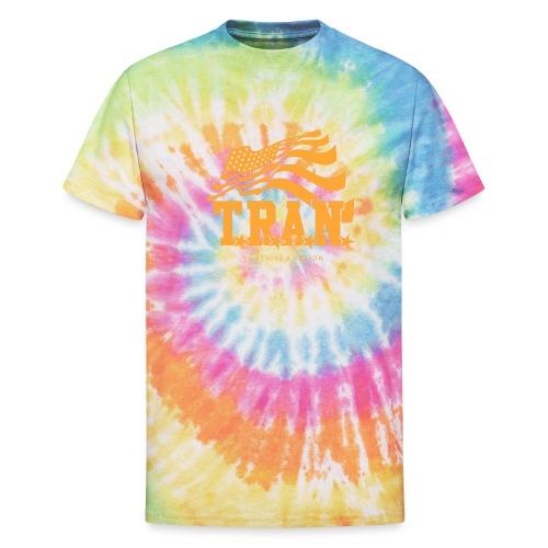 TRAN Gold Club - Unisex Tie Dye T-Shirt