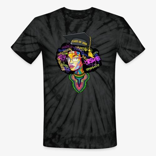 Melanin Queen Shirt - Unisex Tie Dye T-Shirt