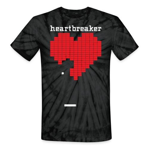 Heartbreaker Valentine's Day Game Valentine Heart - Unisex Tie Dye T-Shirt