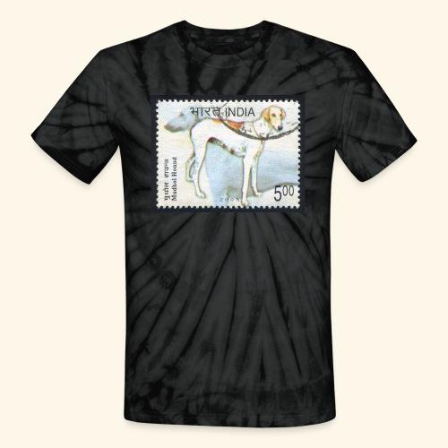 India - Mudhol Hound - Unisex Tie Dye T-Shirt